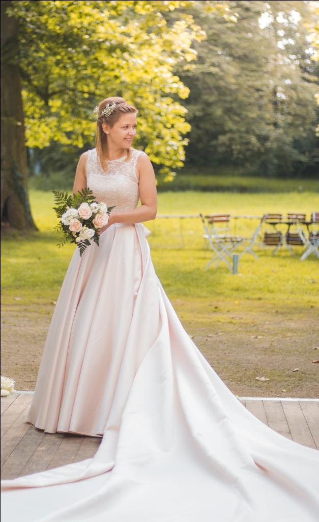 шлейф свадебного платья