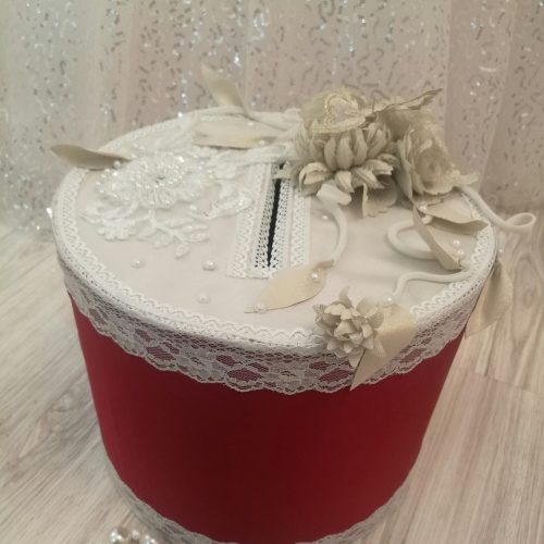 коробка для дарения на свадьбу