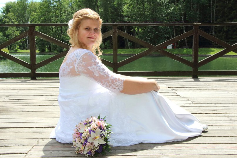 свадебное платье больших размеров заказать