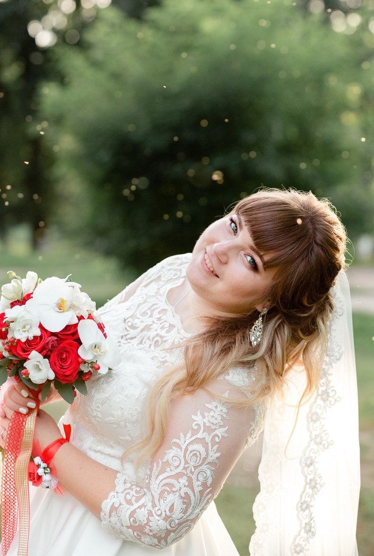 пошить свадебное платье большого размера