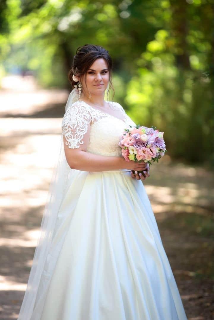 свадебное платье большого размера пошить под заказ