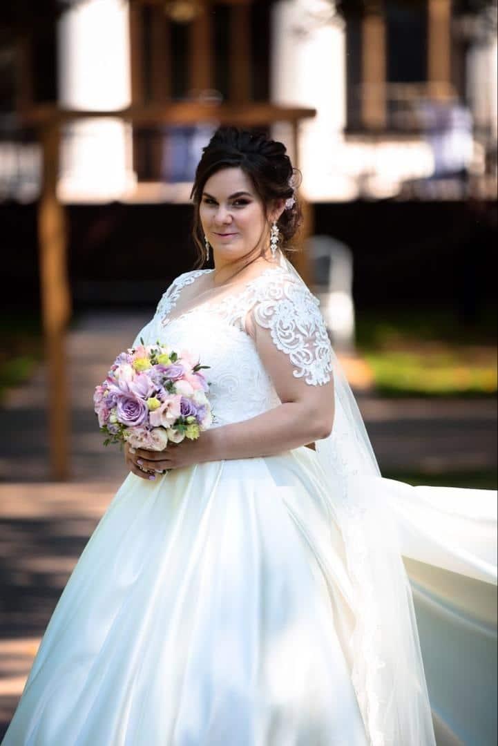отзыв невесты со свадебным платьем большого размера