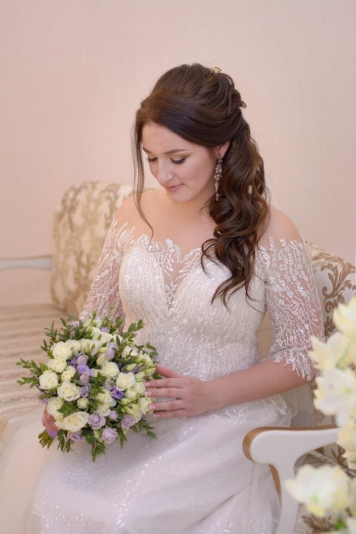 удобное свадебное платье